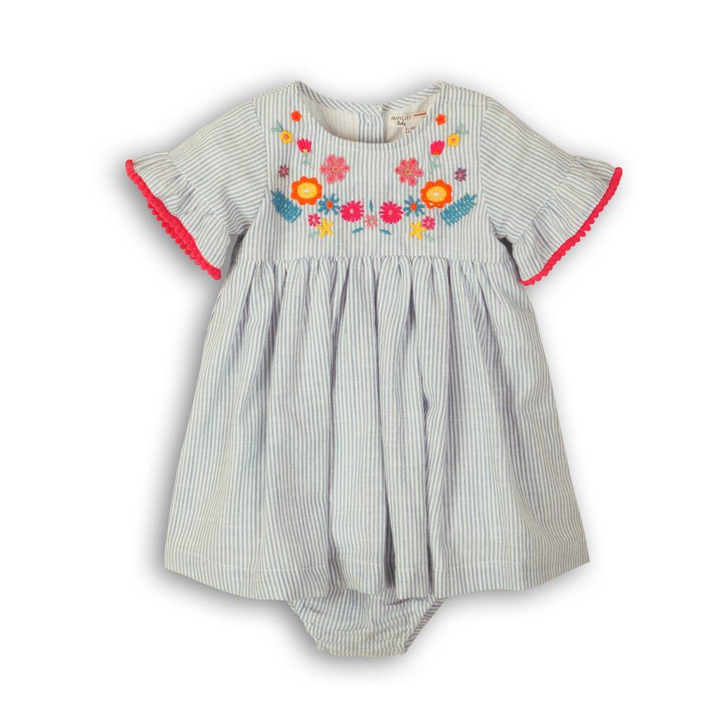 Šaty kojenecké s kalhotkami, Minoti, Parade 7, holka - 74/80