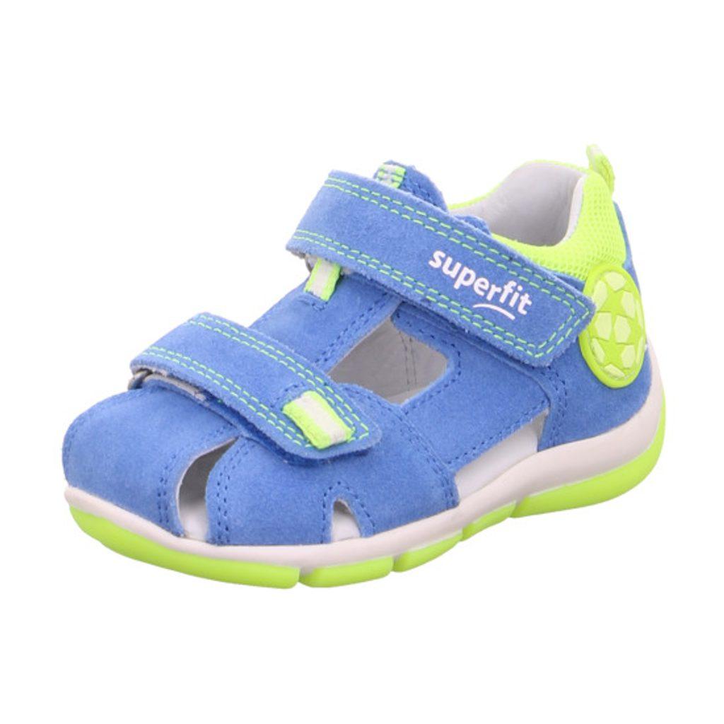 chlapecké sandály FREDDY, Superfit, 0-609142-8100, modrá - 27