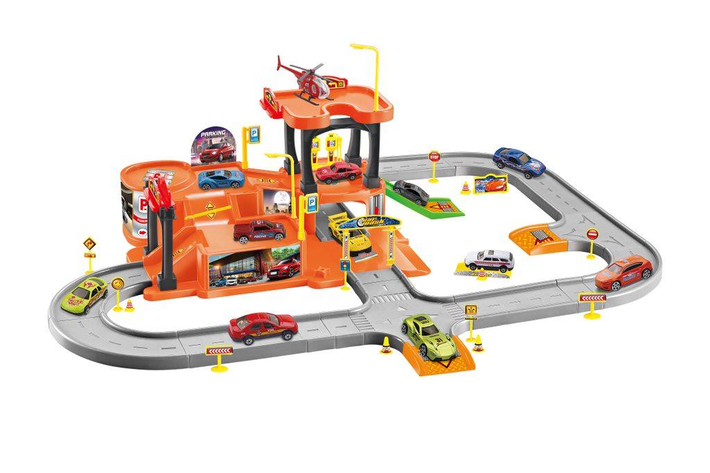 Parkovací stanice 69x56x23,5 cm, Wiky Vehicles, W001898
