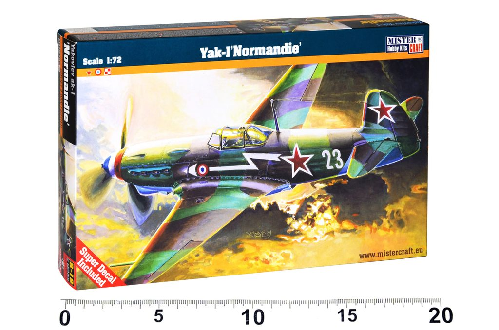 Model letadla Yakovlev Yak-1M Norma, Mister Craft, W105002