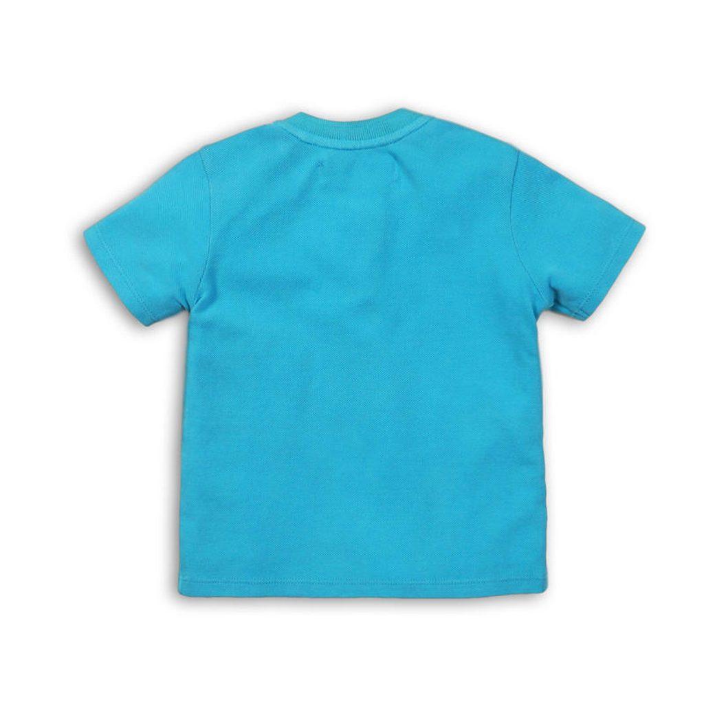 Tričko chlapecké s krátkým rukávem, Minoti, BUGS 8, modrá - 104/110