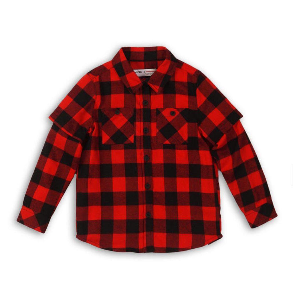 Košile chlapecká, Minoti, CITY 2, kluk - 104/110