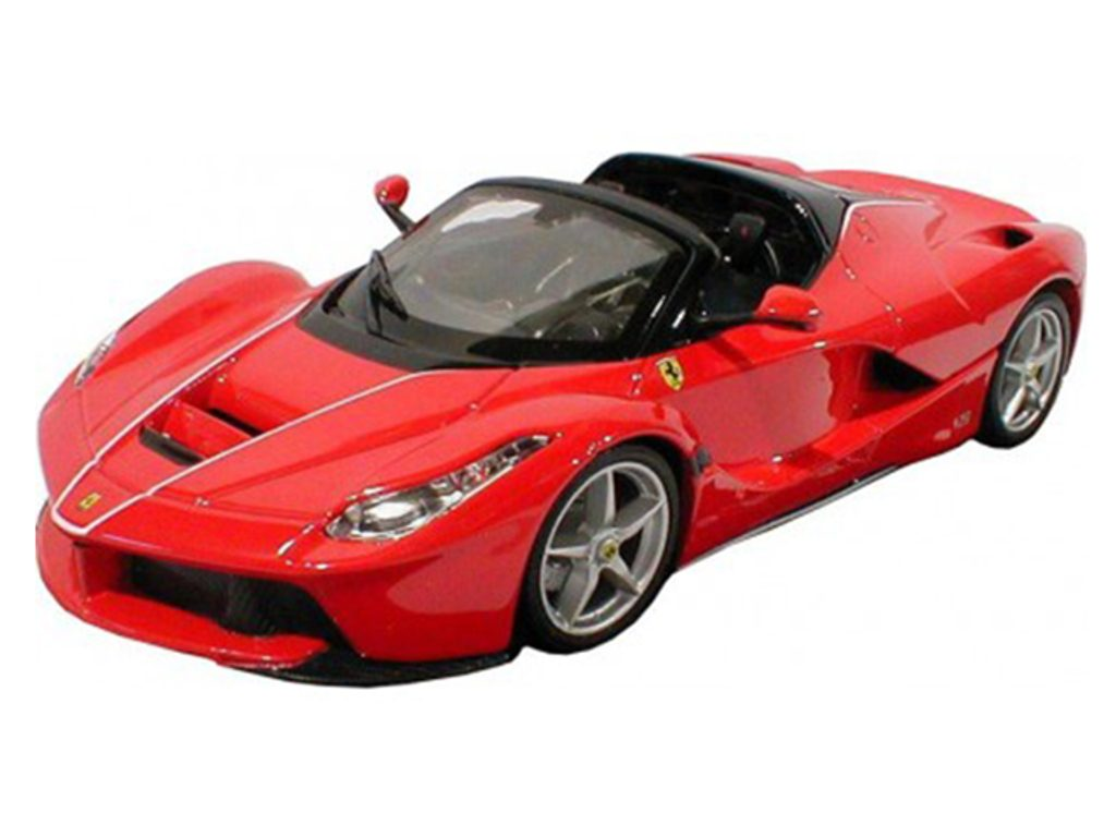 Bburago 1:24 La Ferrari Aperta červená, Bburago, W009331