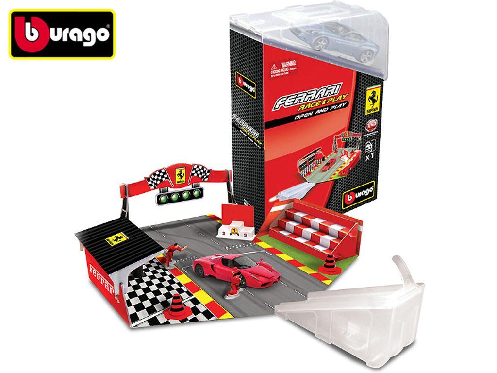 Ferrari Open-Play set s autem 1:44 /různé druhy, Bburago, W102464
