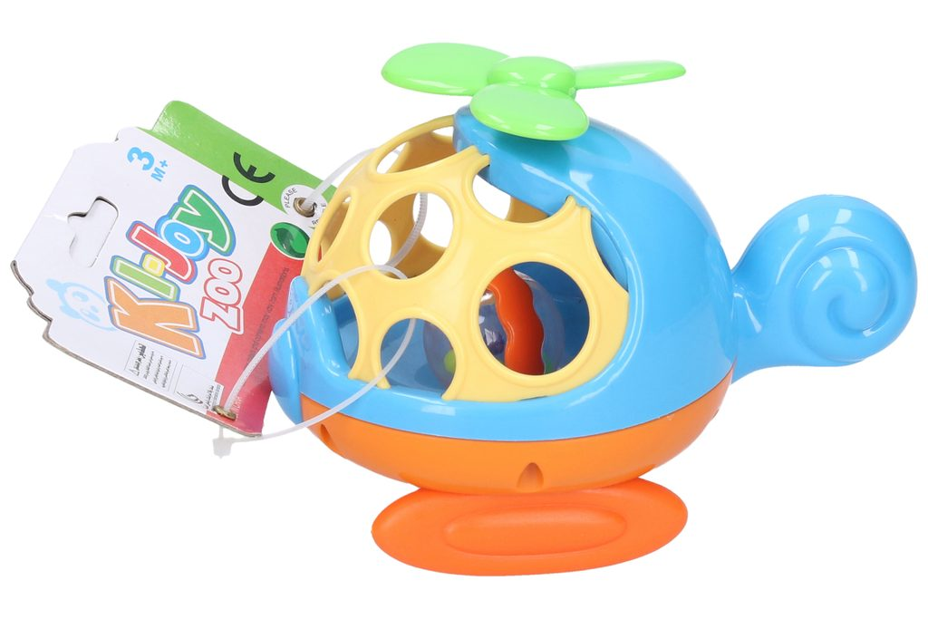 Chrastítko Vrtulník 14 cm, Wiky, W007547