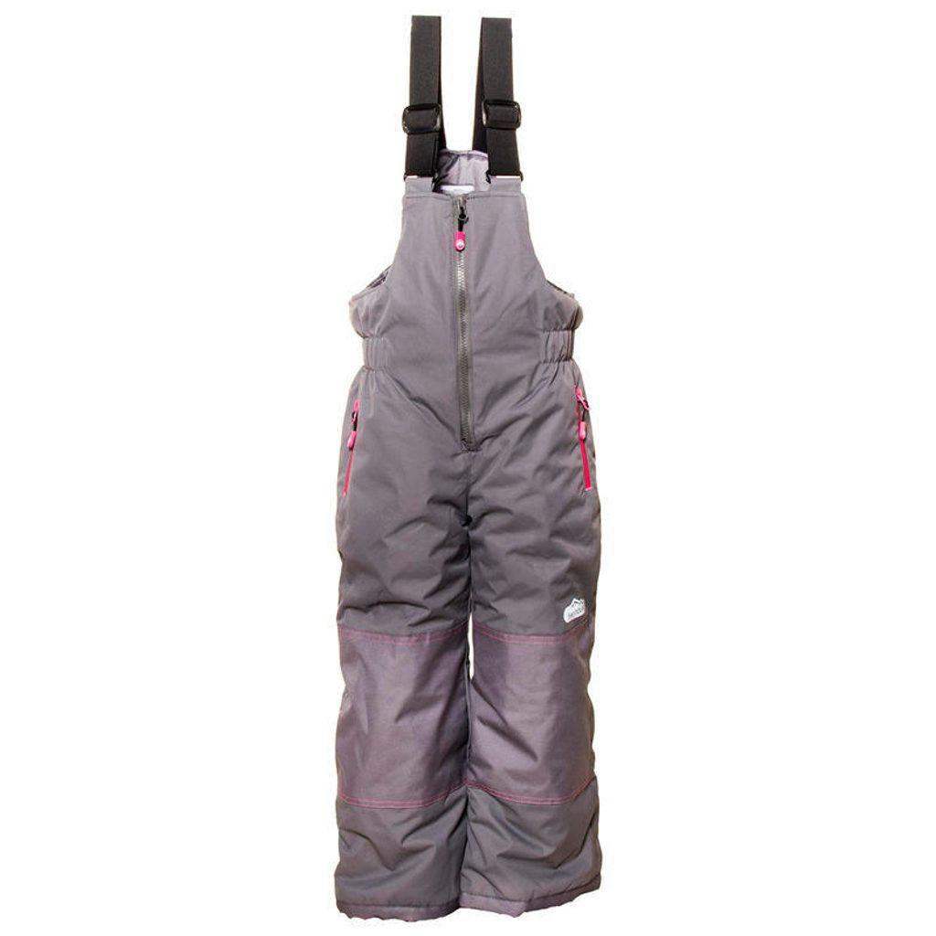 kalhoty lyžařské zimní dívčí, Pidilidi, PD1049-09, šedá - 98