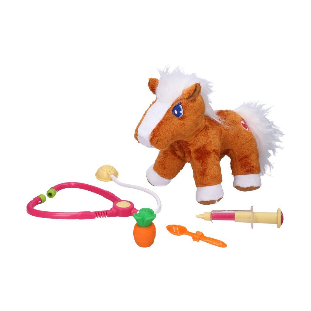Kůň veteřinář se zvukovými efekty 30 cm, Wiky, W001269