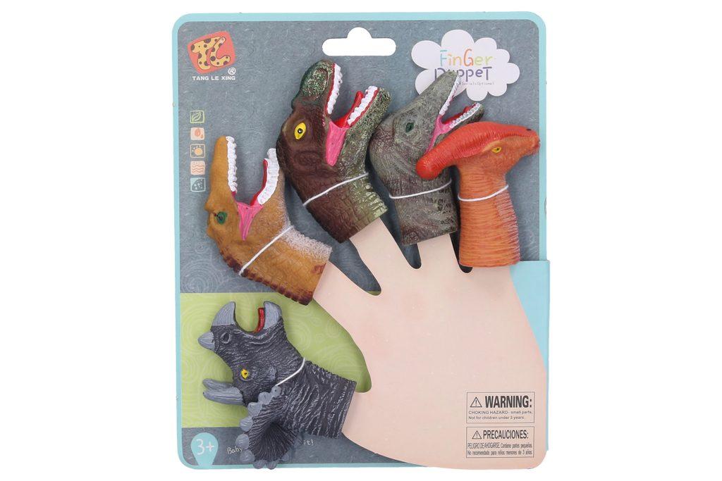 Dinosauři na prsty 5 ks, Wiky, W007512