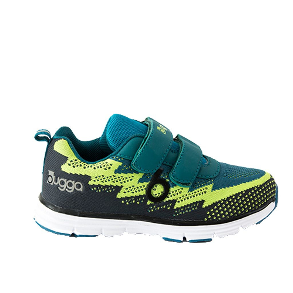 boty sportovní tenisky OUTDOOR, Bugga, B00162-19, zelená - 32