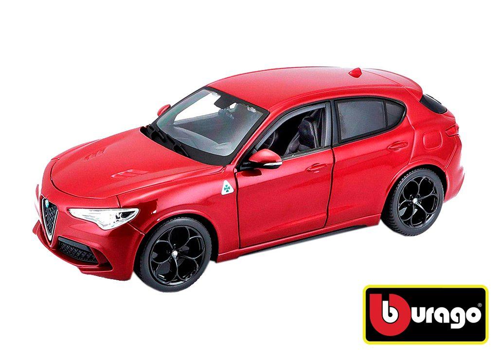Bburago 1:24 Alfa Romeo Stelvio Red, Bburago, W007268