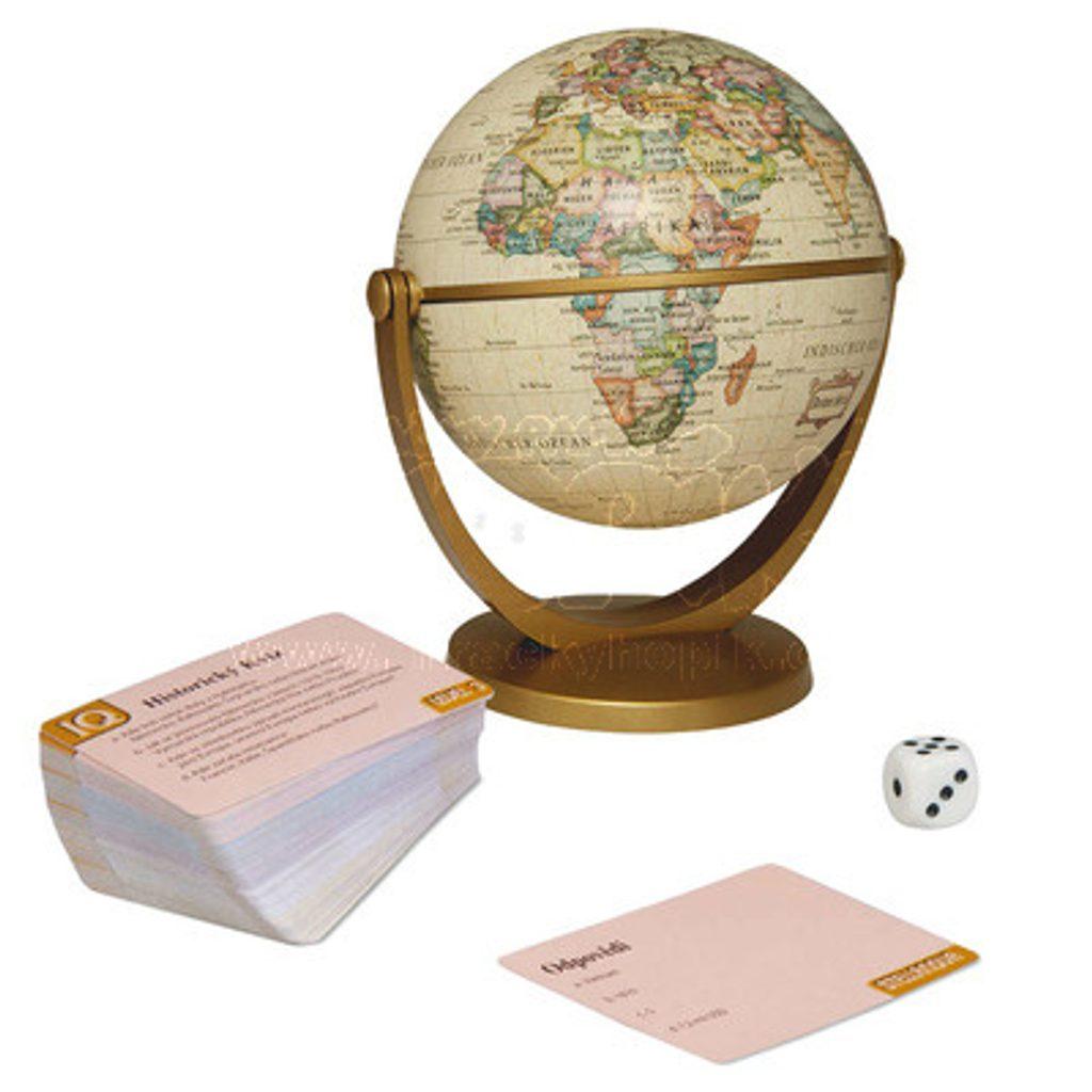 Historický kvíz s globusem Rodinná hra, Dino Hry, W86029