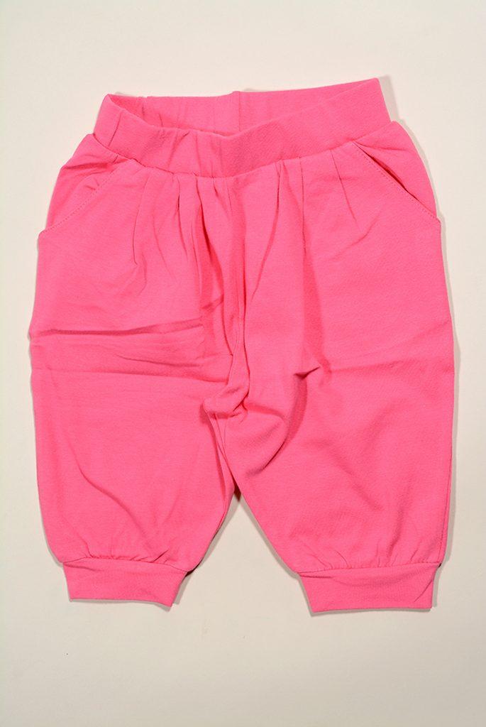 kalhoty dívčí 3/4, Wendee, DY56108-1, růžová - 98