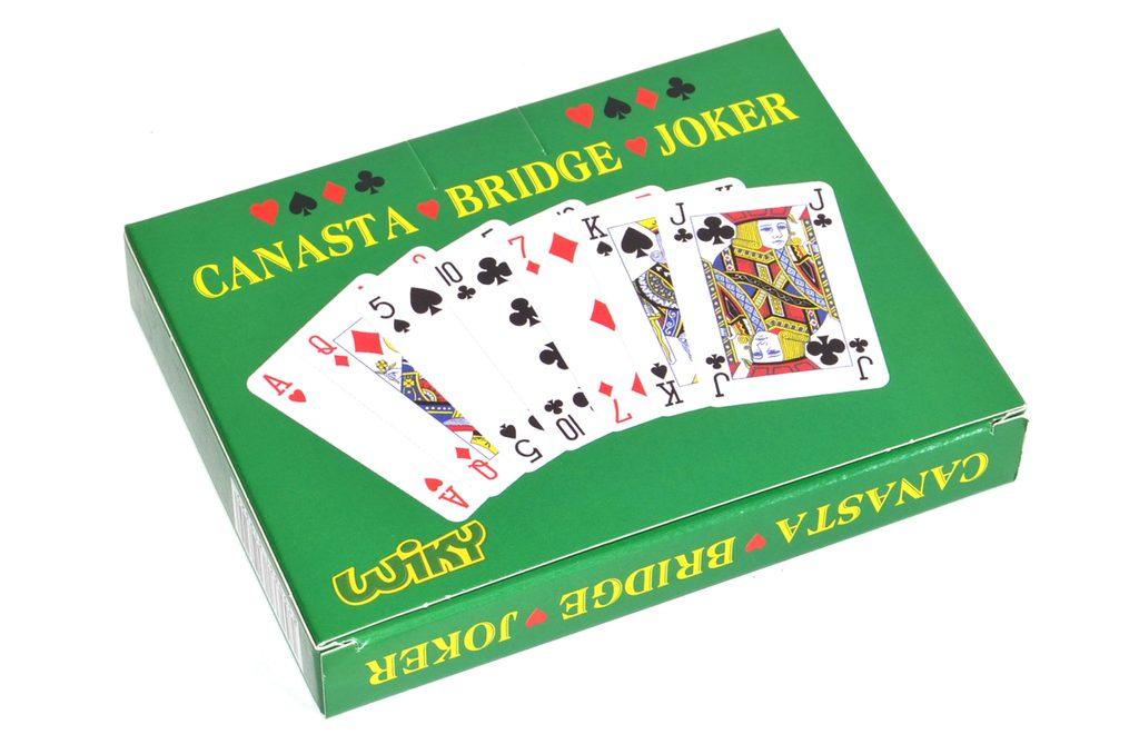 Karty Canasta - papír. krabička, Wiky, W202002