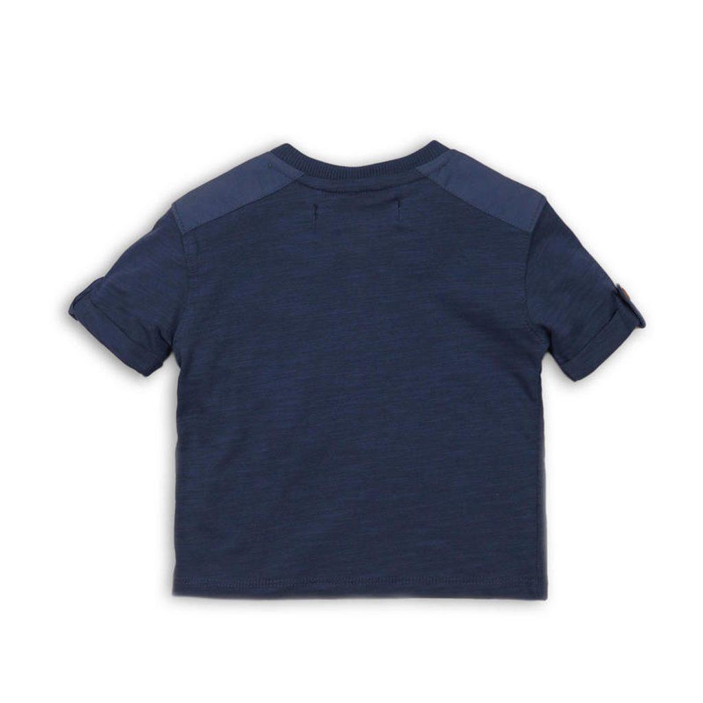 Tričko chlapecké s krátkým rukávem, Minoti, CACTUS 7, modrá - 62/68