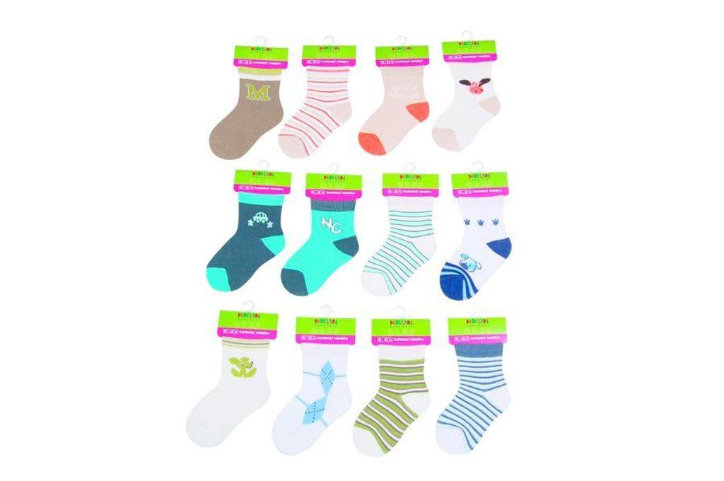 Kojenecké ponožky chlapecké  (12 až 18m), Pidilidi, PD505, kluk - 80/86
