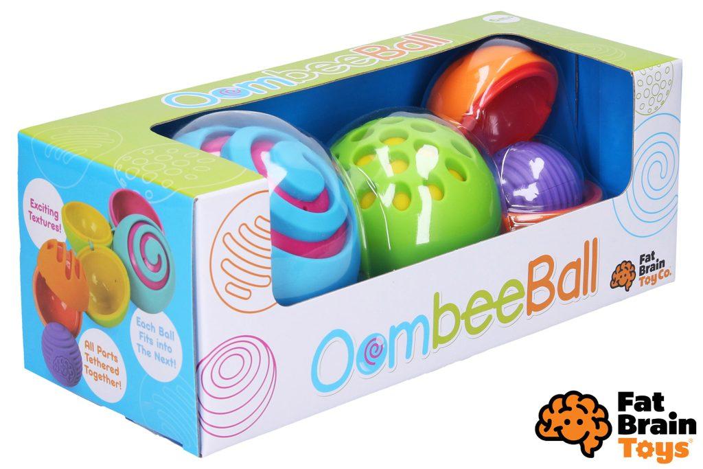 Fat Brain vkládací balónky OombeeBall, Fat Brain, W010236