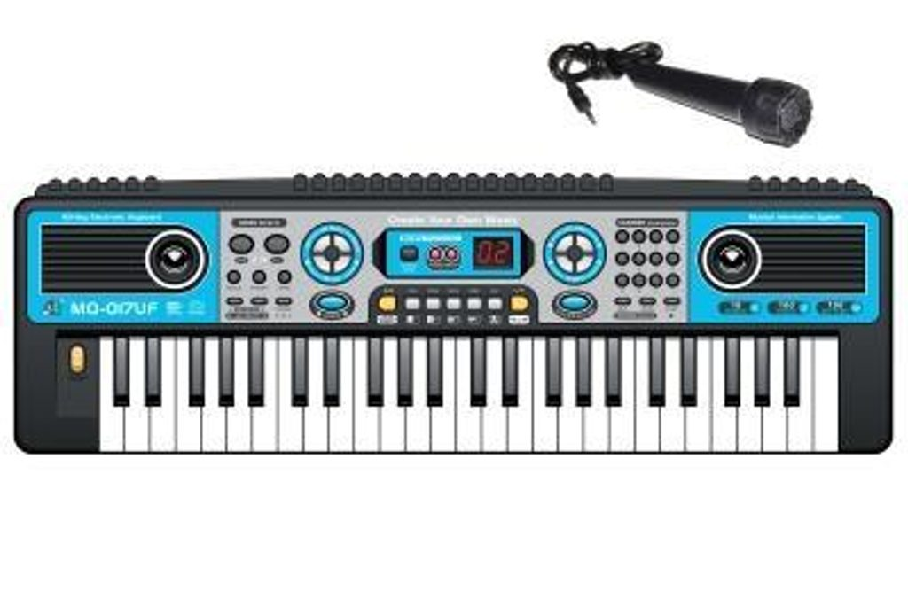 Elektronické klávesy s mikrofonem a rádiem, WIKY, 116812