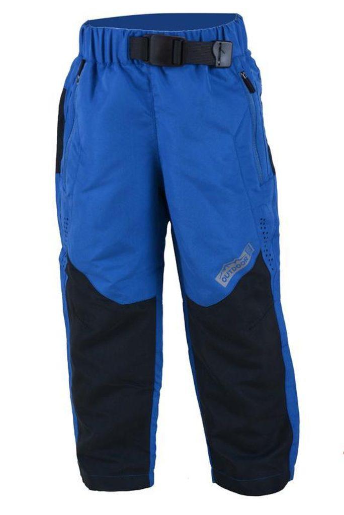 kalhoty sportovní s fleezem outdoorové, Pidilidi, PD1028-04, modrá - 104