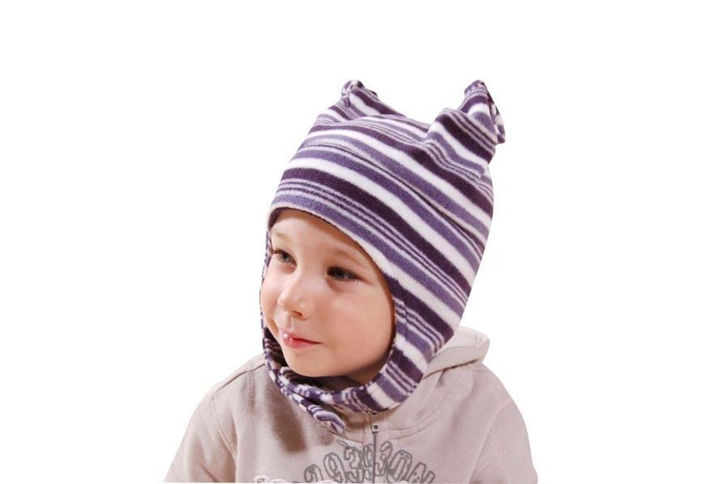 čepice fleezová dívčí, Bugga, PD622, modrá - 92