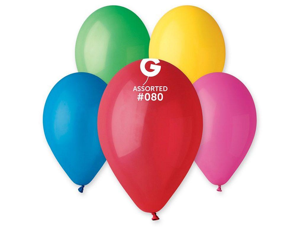 Balónek nafukovací - sada 10ks PASTELOVÉ 30cm, Smart Balloons, W040569