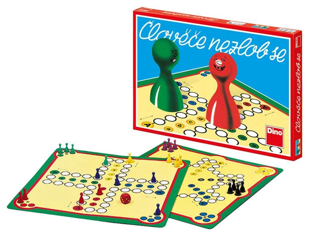 Hra - Člověče nezlob se, Dino Hry, W560160