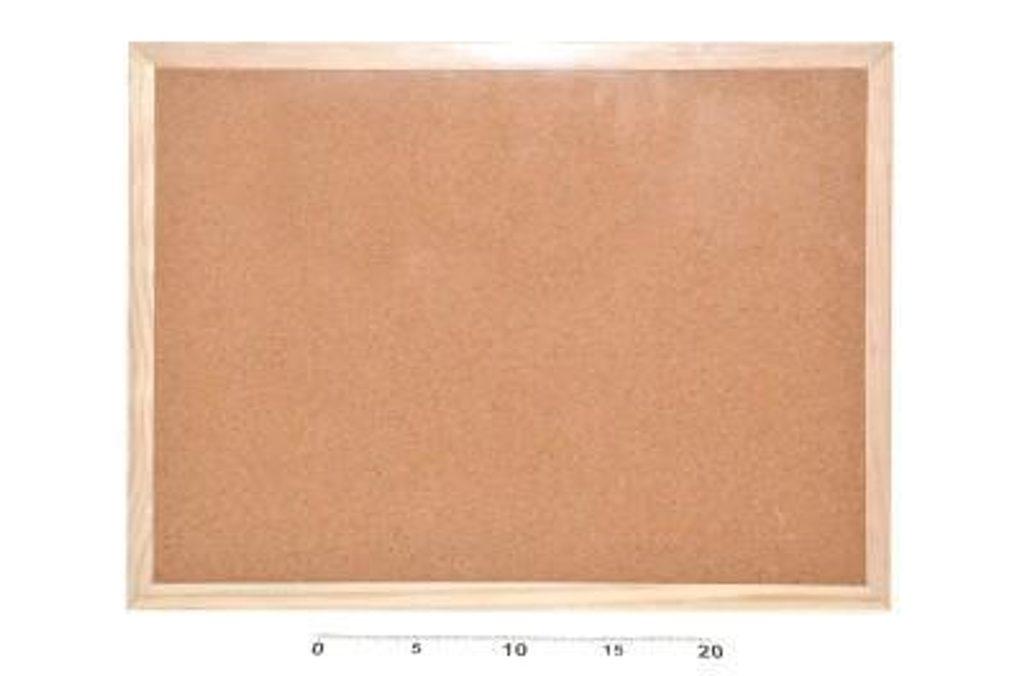 Tabule korková 30x40cm, WIKY, 881800