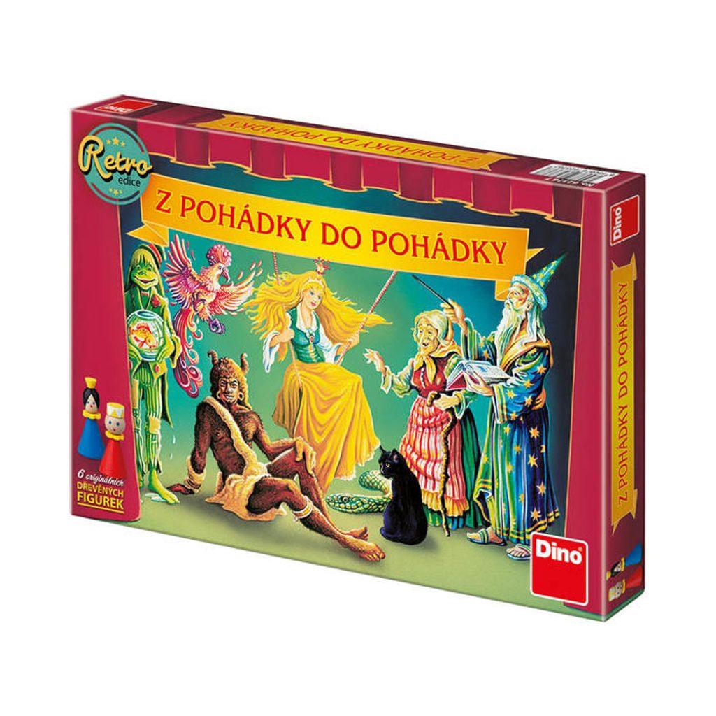 Z POHÁDKY DO POHÁDKY RETRO EDICE Dětská hra, Dino Hry, W000203