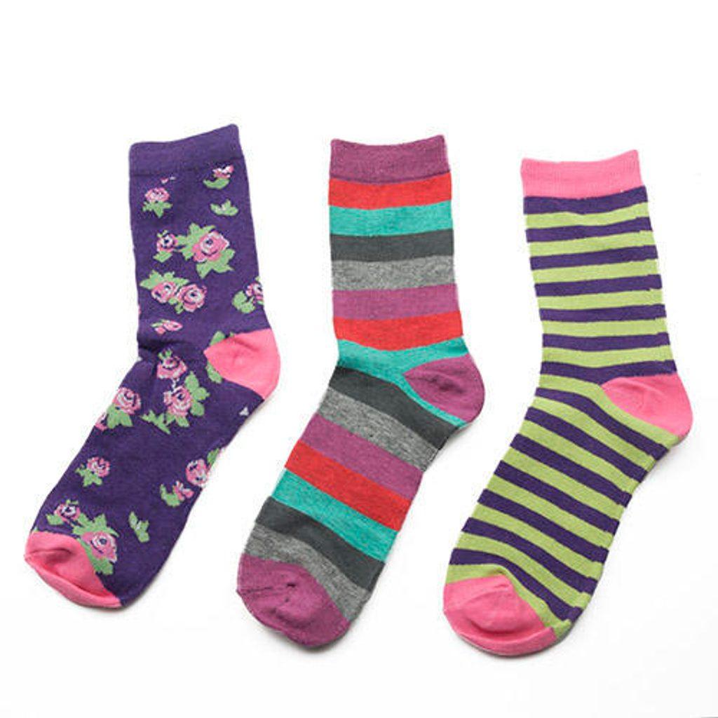 ponožky dívčí, 3pack, Pidilidi, PD0124, holka - 31-34