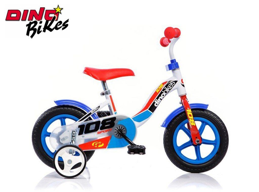 Dětské kolo modré, Dino Bikes, W012674