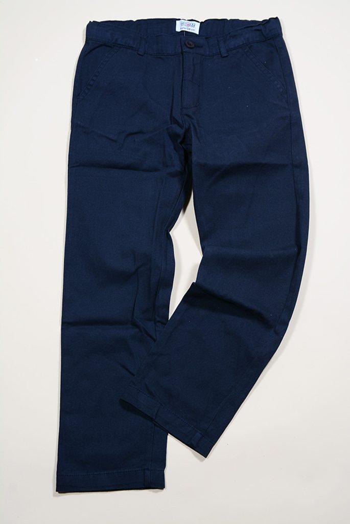 kalhoty chlapecké, Sobe, 15KEGPAN256, modrá - 134