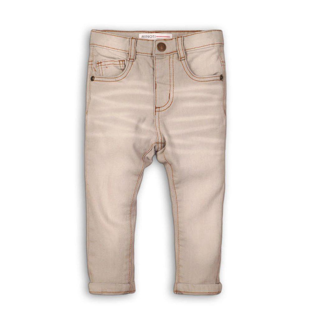 Kalhoty chlapecké džínové s elastenem, Minoti, COSMIC 9, kluk - 110/116