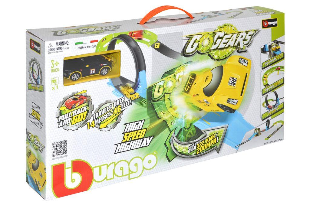 Go Gears High Speed Highway s autíčkem, Bburago, W102402