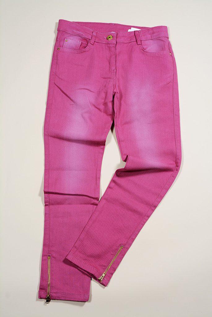 kalhoty dívčí, Sobe, 15KKGPAN745, červená - 152