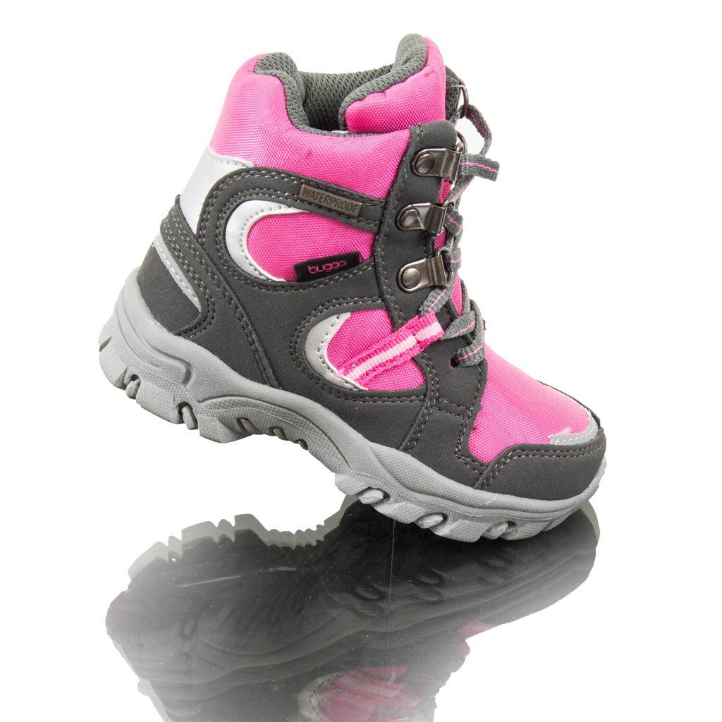 boty zimní nepromokavá membrána, Bugga, B00130-03, růžová - 26