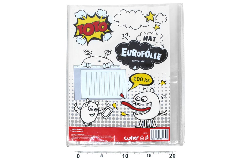 Eurofolie A4 - matná, TOTO, W834113