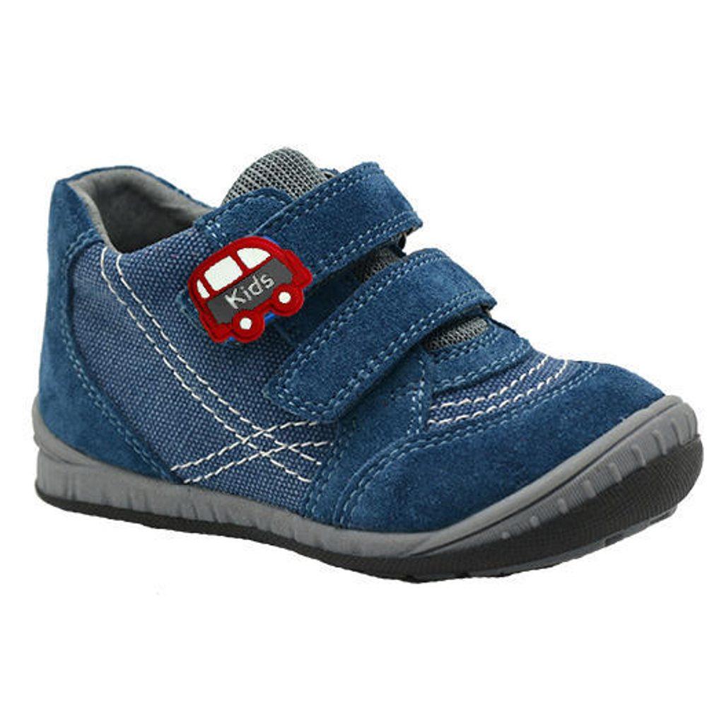boty dětské celoroční, Bugga, B00137-04, modrá - 28