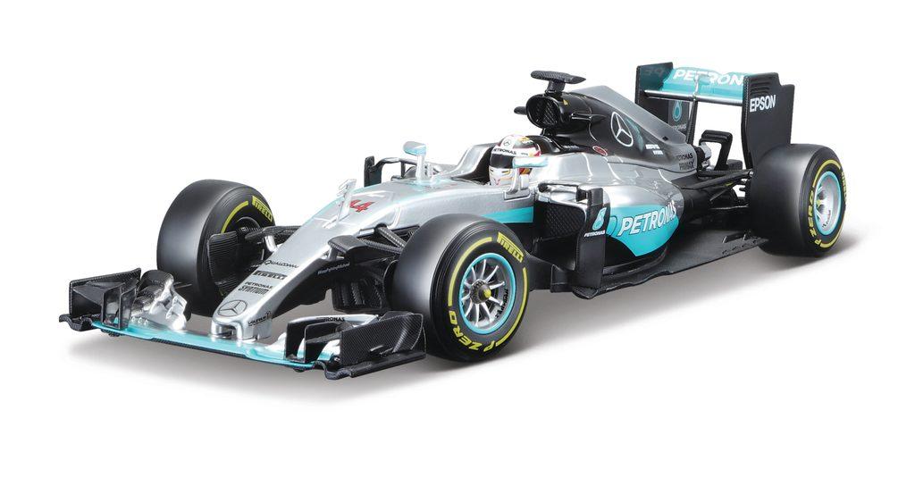 Formula F1 Mercedes AMG Petronas W07, Bburago, W002880