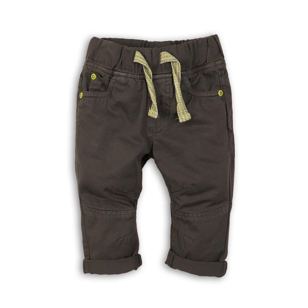 Kalhoty chlapecké, Minoti, DINO 2, šedá - 68/80