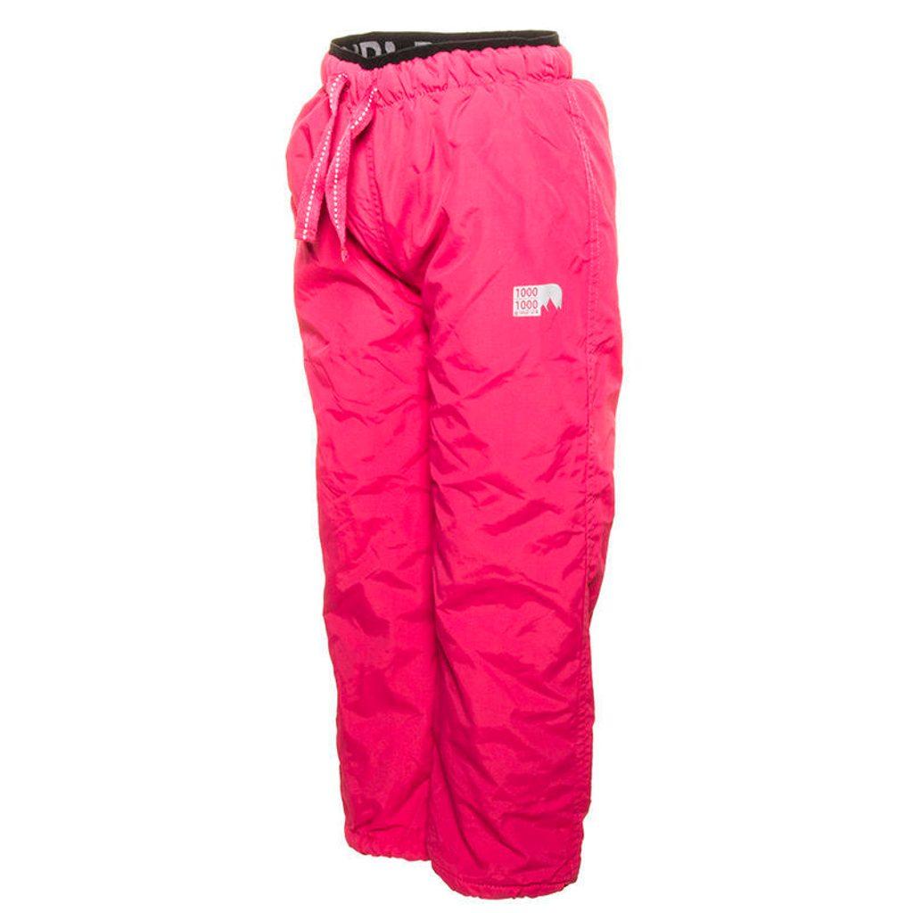 kalhoty sportovní s fleezem outdoorové, Pidilidi, PD1060-03, růžová - 134
