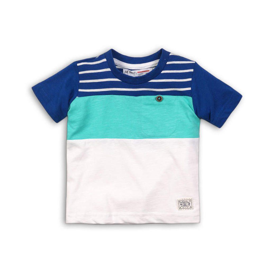 Tričko chlapecké s krátkým rukávem, Minoti, heat 3, bílá - 110/116