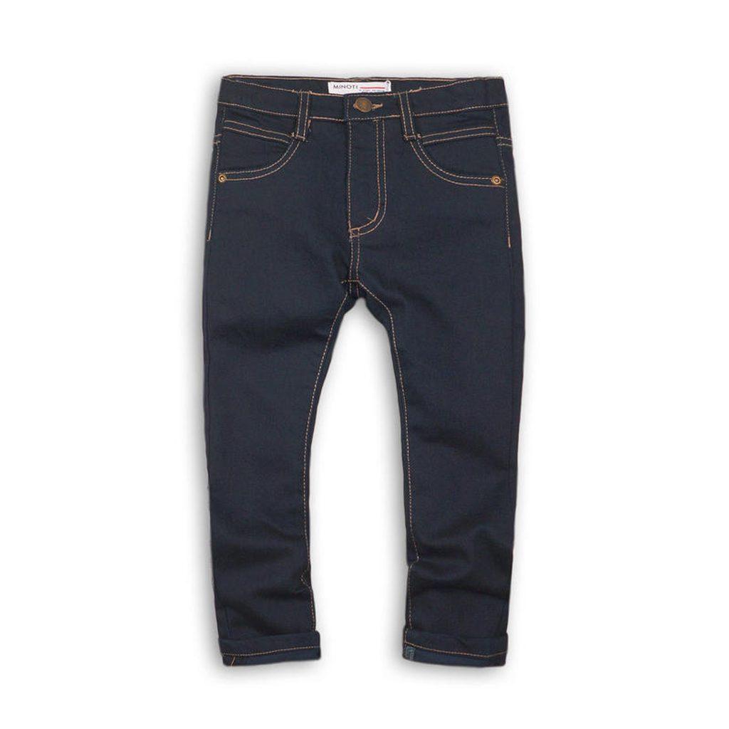Kalhoty chlapecké džínové s elastenem, Minoti, MAPLE 1, modrá - 140/146