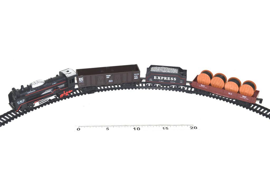 Vlakový set Rail King se světelnými efekty, Wiky, W110170