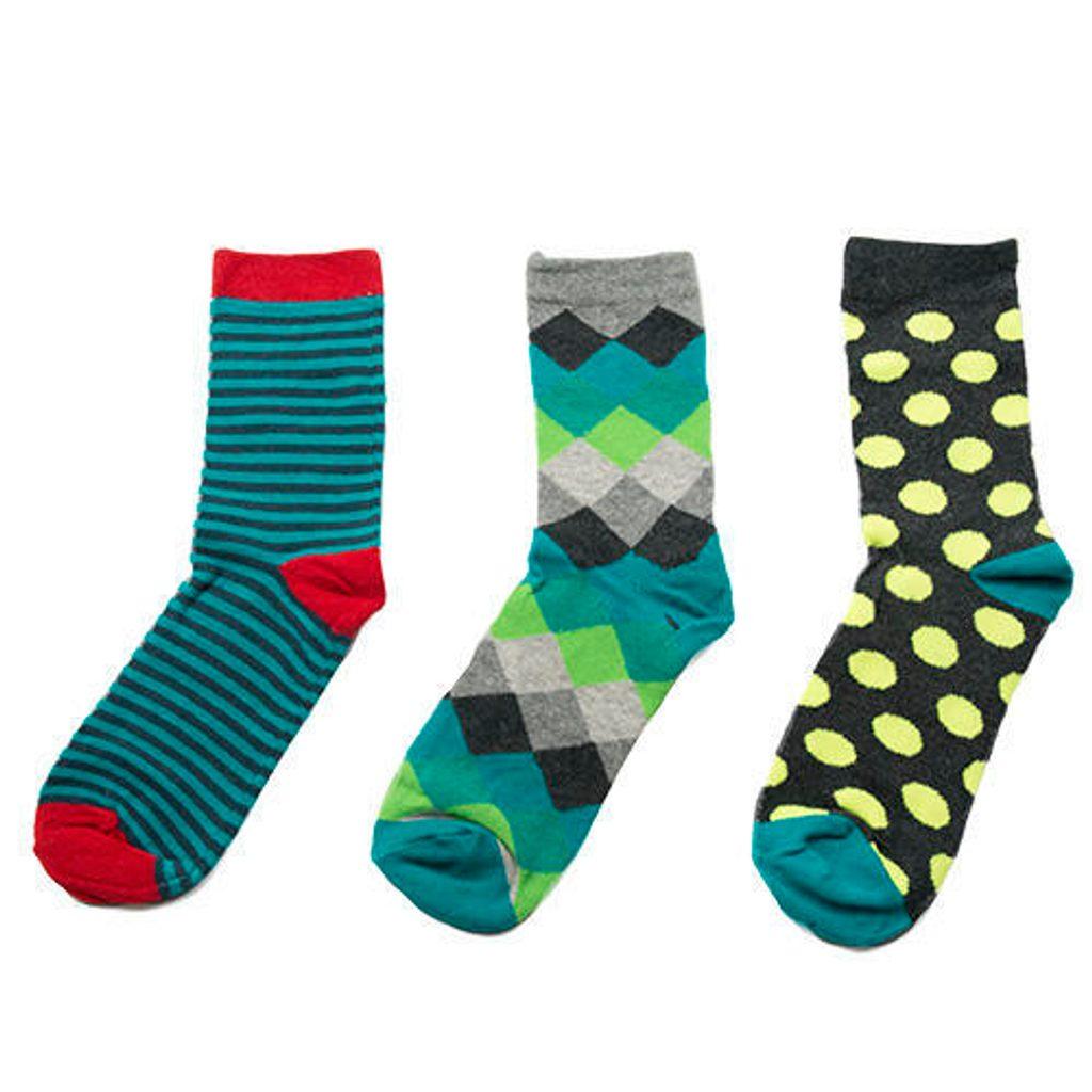 ponožky chlapecké, 3pack, Pidilidi, PD0123, kluk - 38-39