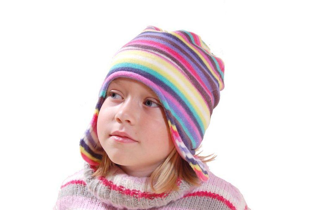 čepice dívčí fleezová, Bugga, PD621, mix - 92
