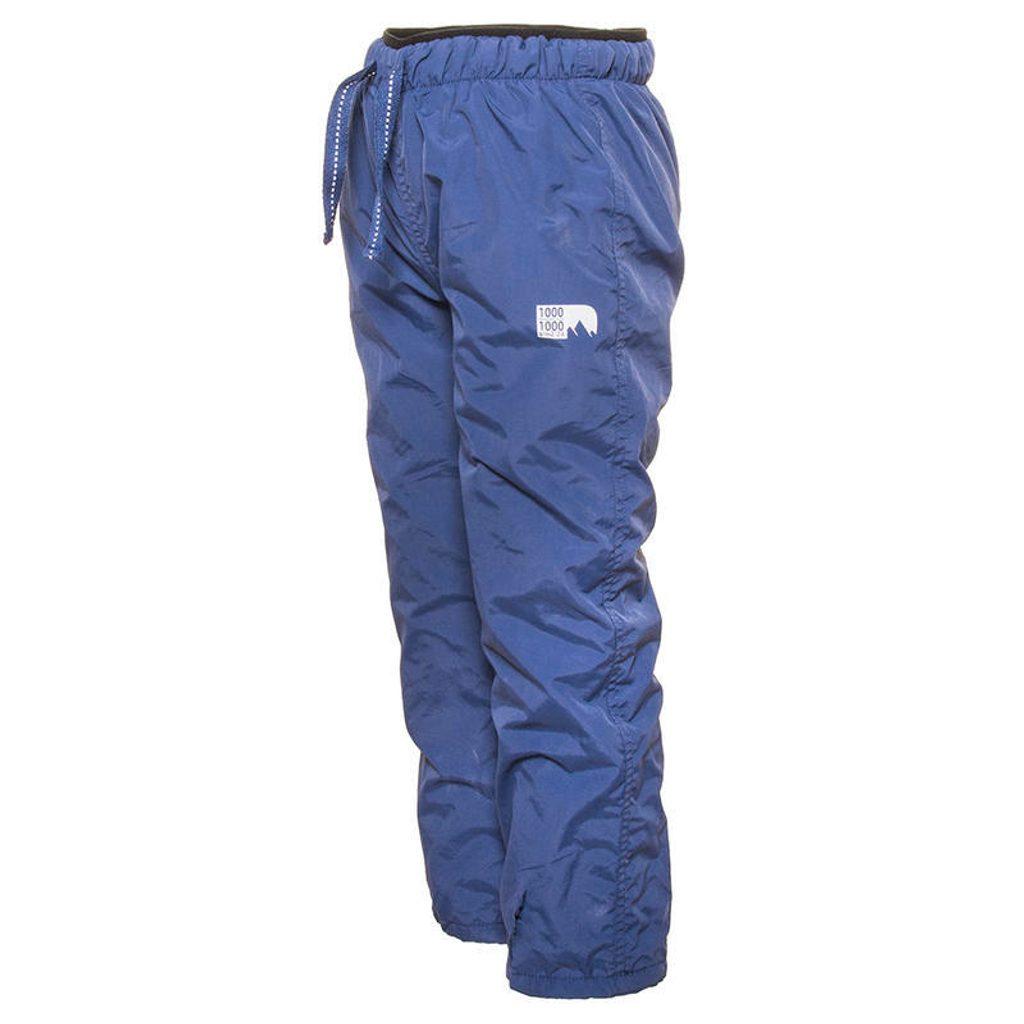 kalhoty sportovní s fleezem outdoorové, Pidilidi, PD1060-04, modrá - 134