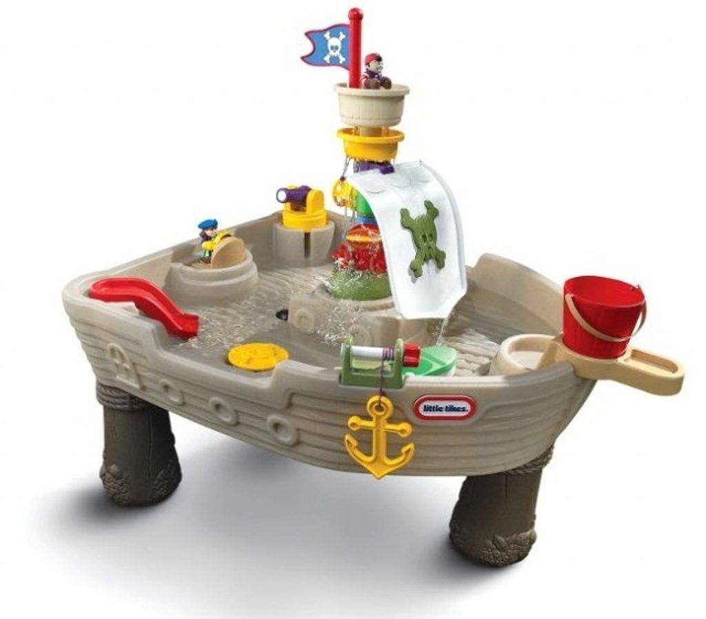 Vodní stůl - pirátská loď, Little Tikes, W013171