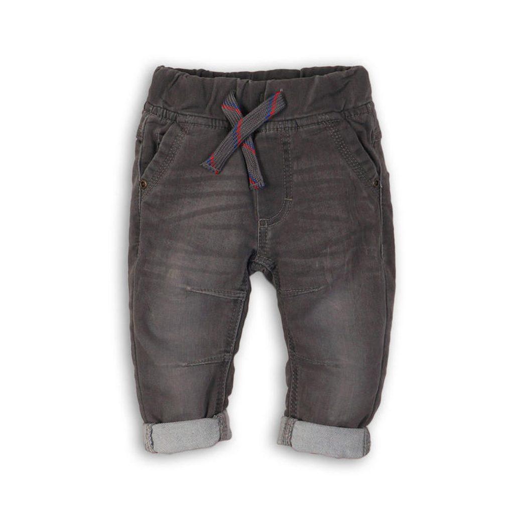 Kalhoty chlapecké, Minoti, FLY 5, šedá - 122/128