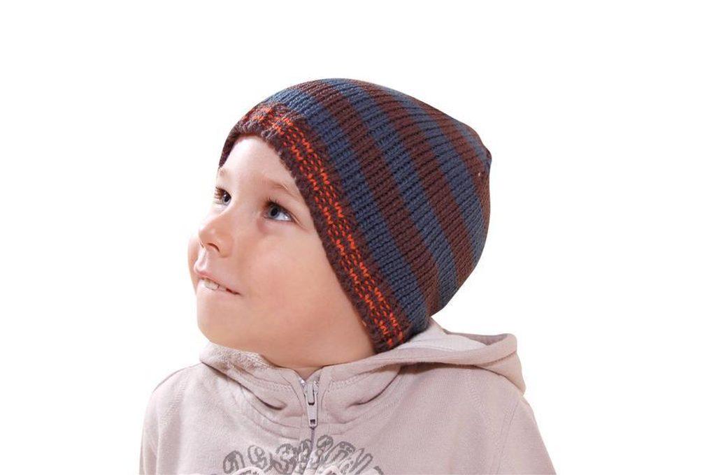 čepice chlapecká, Bugga, PD612, hnědá - 98