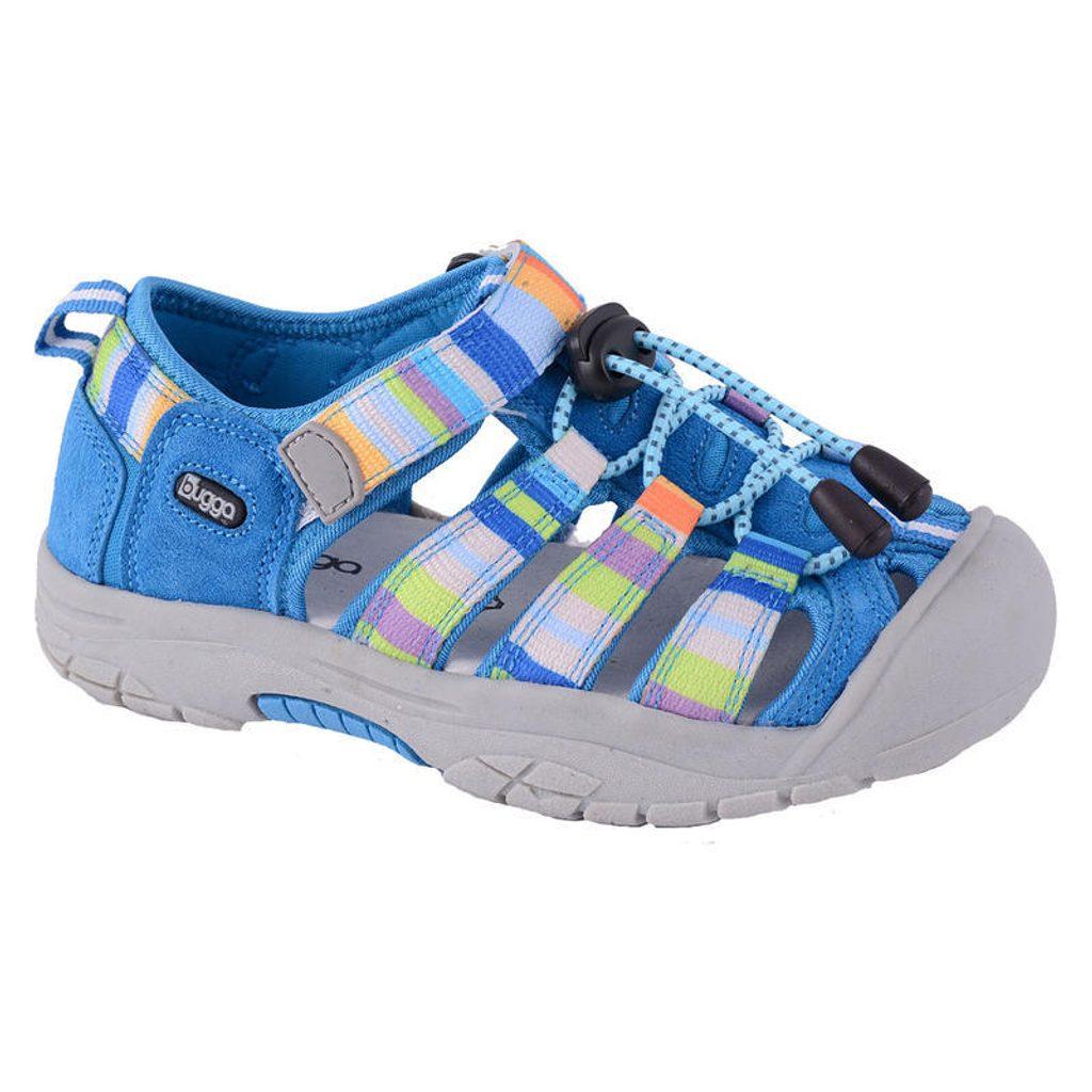sandále dětské, Bugga, B092, modrá - 28