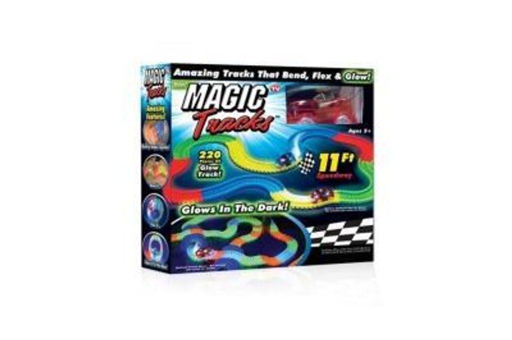 MAGIC TRACKS Kouzelná svítící autodráha 220 dílků, 111153